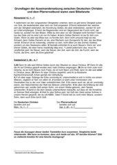 Kirchenkampf im Dritten Reich Römerbrief versus Galaterbrief