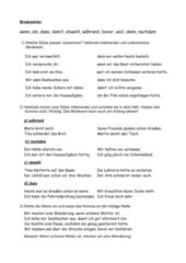 Bindewörter