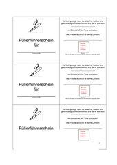 Füllerführerschein