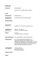 Schullandheim Schneverdingen
