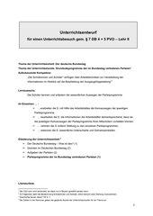 Grundsatzprogramme der im Bundestag vertretenen Parteien