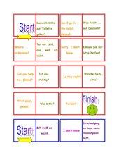 Domino zu 'classroom phrases'