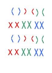 farbige Chromosomen für OHP