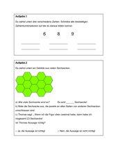 Übungen zur Lernstanderhebung Mathematik Klasse 3 NRW