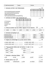 LZK Mathe Zahlenraum bis 10.000