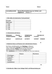 LZK Nomen/ Nominalisierung von Verben und Adjektiven