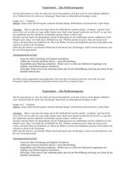 Schülerexperiment zur Erarbeitung des Reflexionsgesetzes