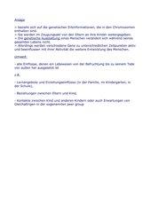 Verg. der Auffassungen von Erbtheoretikern und Umwelttheoretikern