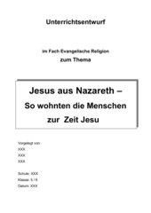 Wohnen zur Zeit Jesu