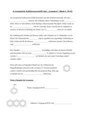 Lückentext Aromatische Kohlenwasserstoffe
