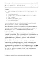 UR-Entwurf: Widerstand im 3. Reich
