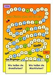Spiel: Kleine Künstler gehen auf die Reise...