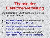 Oxidationsstufen nach Bor-Sommerfeld (GK 11)