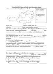 Österreich - nördliches Alpenvorland und Karpatenvorland