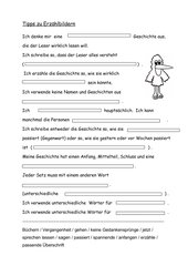 Beginnendes Aufsatzschreiben im 3. Schuljahr: Tipps zu Erzählbildern