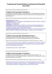 SekII Bildanalyse: Giorgio de Chirico