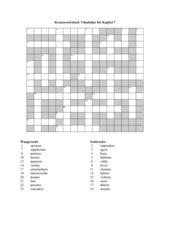 Latein Felix Kreuzworträtsel Vokabeln bis Kapitel 7