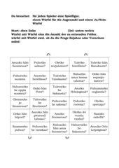 Fragen ohne Fragewort- ja/nein-Spiel