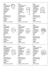 Sprachspiel um Personalien zu erfragen (Finnisch)