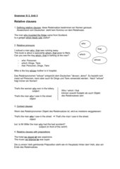 Grammar G 3 Unit 3