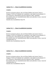 Geschäftsbrief, Anforderung Formular