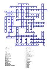 Kreuzworträtsel (Finnisch)