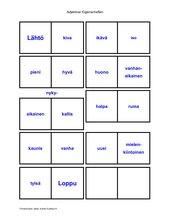 Domino Adjektive-Antonyme (Finnisch)