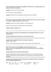 Grammatik und Rechtschreib Quiz
