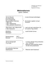 Melomakarona