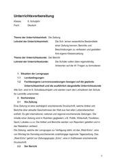 Die Zeitung - Der Bericht - W-Fragen