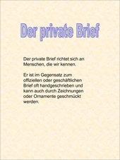 Der Privatbrief