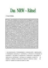 NRW Rätsel