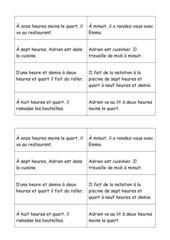 La journée d'Adrien