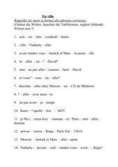 Sätze bilden (nach L6 TE1)