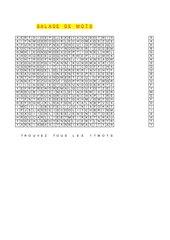 Wortsalat zu Découvertes 2 (alt) Unité 6