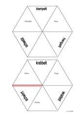 Verben-Puzzle (Personalform)