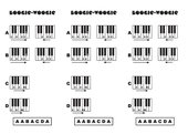 Boogie-Woogie für Klavier/Keyboard