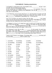 Abschlussprüfung Englisch 10 Realschule - Reading Comprehension