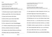 Stolperwörtersätze Nr.1 (für  Kl.1)