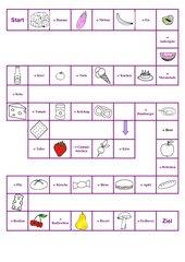 Bild - Wort  Memo-Spiel / Zuordnungsspiel
