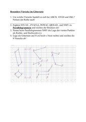 Besondere Vierecke im Gitternetz