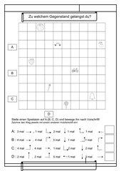 Wege finden - Geometrie 1.Klasse