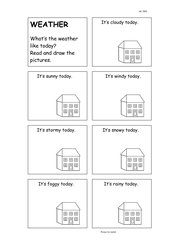 Weather: Read and draw