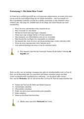 Methoden: Arbeitsmaterialien