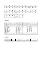 Buchstabenrätsel mit natürlichen Zahlen