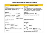 Formeln zur Berechnung des vermehrten Grundwertes
