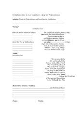 Spass mit Praepositionen/Wortarten