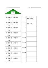 Zahlzerlegungshäuser 5-10