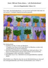 """Bild zum Thema """"Baum """" /  """"Der Buchstabenbaum"""""""