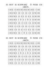 Buchstabensuchen  (EI-IE-Ö-CH)